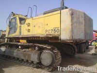 Used excavator PC750-6