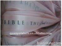 silk screen ribbon