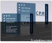Unique Transparent Gift card