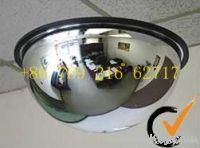 Acrylic full dome convex mirror