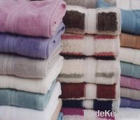 Bed linen  Towels  leather