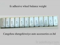 Fe/iron adhseive wheel balance weight