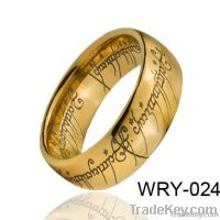 18K Gold Plated Magice Tungsten Rings Pendants for Men