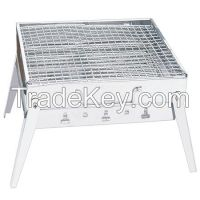 Stainless Steel Portable Charcoal bbq grill