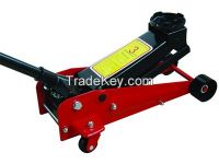Horizontal Car Lift Rolling Manual HydraulicJack 3T