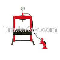 Hydraulic Machine/8Ton Portable Type Shop Press with Gauge/Hydraulic Shop Press