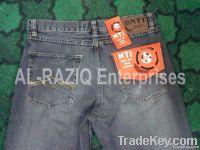 Used jeans denim