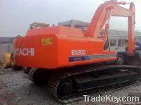 used crawler excavator ex200-1