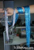 Glitz Sparkling Dazzle Tinsel Hair Extensions 3D Shinny Hair 91cm .100