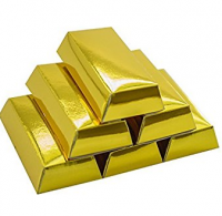 Gold Dust, Gold Nuggets And Gold Bars