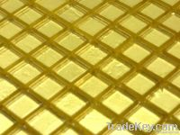 Decorative Textured Glass Mosaic Tiles