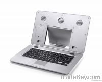 Ergonomic Laptop Cooler with Cooling Fan and Keyboard Mouse