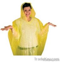 PE emergency poncho for