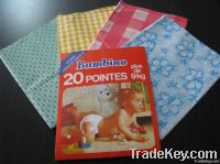 baby plastic tie-pant PVC/PEVA diaper