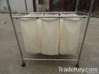 stainless steel tube   laundry cart