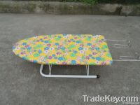 Table top wooden ironing board