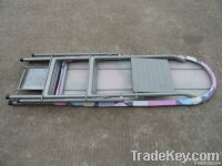 multy function ironing board with a ladder