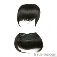 Clip-on Human Hair Bangs