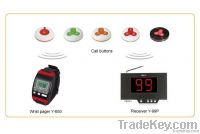 Modern wireless wrist pager for waiters Y-650
