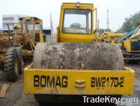 Used Bomag  217D Road Roller