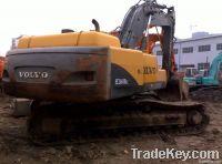 Used Volvo BIG construction excavator