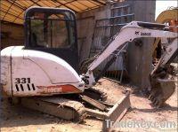 used bobcat 331 mini excavator