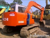 Used Hitachi EX60 Hydraulic Excavator
