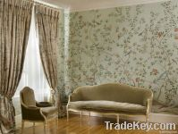 hand-painted wallpapers
