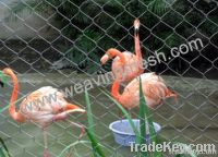 rope mesh, zoo mesh, aviary mesh, zoo bird netting