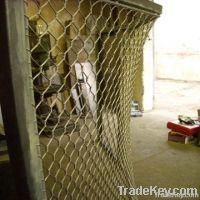 zoo aviary mesh, bird netting, rope mesh, zoo mesh