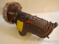 Pet/Dog winter water proof apparel outerwear coat Snowsuits Jacket