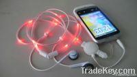 Magic LED Flashing Earphone
