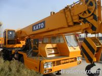 Used kato truck crane 25 ton
