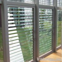 Clear Louver Glass
