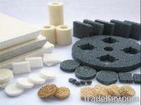 ceramic foam, ceramic honeycomb