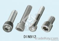 stainless steel hex socket cap screw
