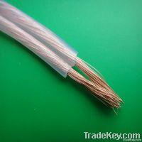 transparent pvc speaker cable