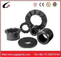 Carbon graphite bushing bearing