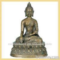 Bronze or Brass Buddha Statue For Sale