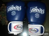 Geniuen leath boxing gloves
