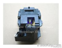 Original/compatible projector lamp/bulb with housing DT00731