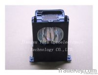 Original/compatible projector lamp with housing Mitsubishi 915P027010