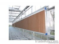 Industrial ventilation system for poultry farming