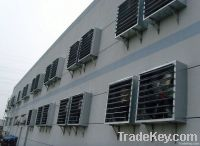 Evaporative cooling pad Poultry fan