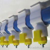 breeder pan feeder for poultry farming equipment
