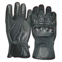 Motorbike Leather Sports Gloves
