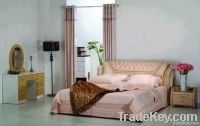 Modern Leather Bed &