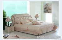 Modern Leather Bed & Soft Bed