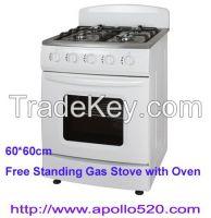 CBU Free Standing Gas Stove 4 Burner And Oven