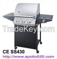 Gas Grill Barbecue 3burner